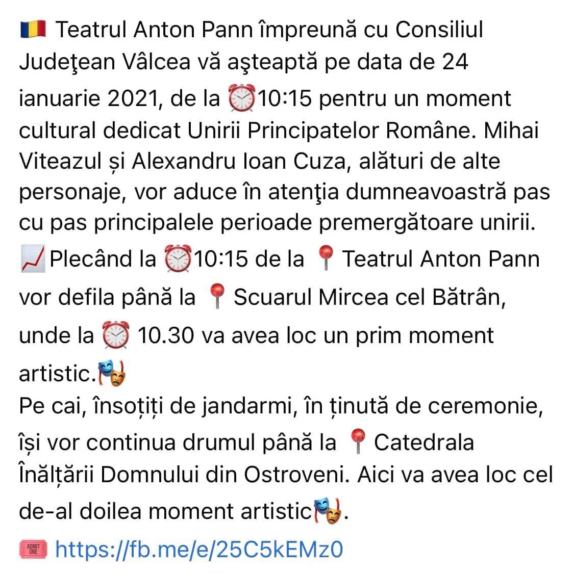 21.01.2021 Program Teatru